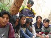 adolescenti nel Centro Educativo Ñanto  del Sucre - Bolivia