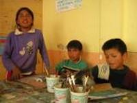 adolescenti del Centro Educativo Ñanto - Sucre, Bolivia