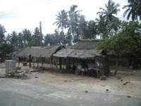 Villaggio africano.