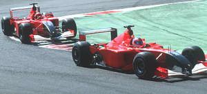 Un'immagine delle prove del Gran Premio di Silverston