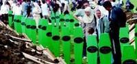il sacrario delle vittime di Srebrenica