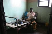 Ospedale di Kimbau, reparto pediatria