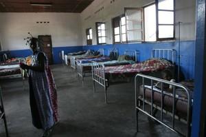 Ospedale di Kimbau, padiglione di medicina interna.