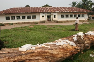 Ospedale di Kimbau, padiglione maternità.