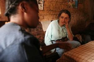 Sosta a Lukuni Wamba per un rapido pasto a base di fufu.