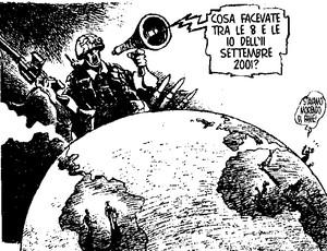 Vignetta su USA e 11 settembre 2001