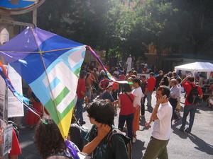 Piazza Alimonda, 20 luglio 2005.