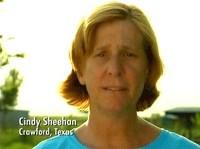 Cindy Sheehan, la mamma antiguerra che ha assediato Bush durante le sue vacanze estive (agosto 2005)