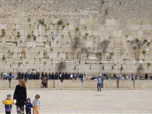 Gerusalemme: il muro del pianto