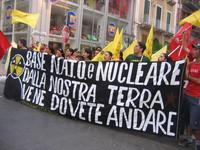 26 Giugno 2005, corteo antinucleare a Taranto.