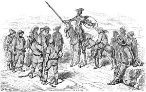 Don Chisciotte, illustrazioni di Gustave Dorè.