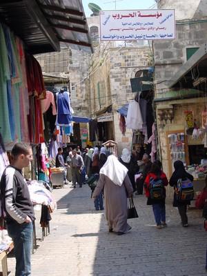 Gerusalemme est: il quartiere arabo