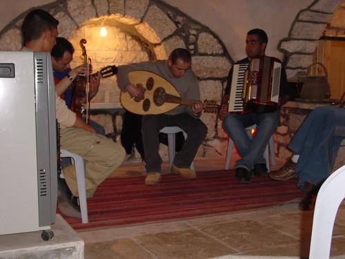 Concerto al centro culturale di Beit Saohur