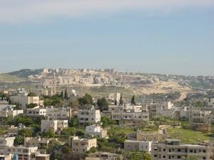 Insediamento dei coloni israeliani nei pressi di Beit Saohur - Betlemme