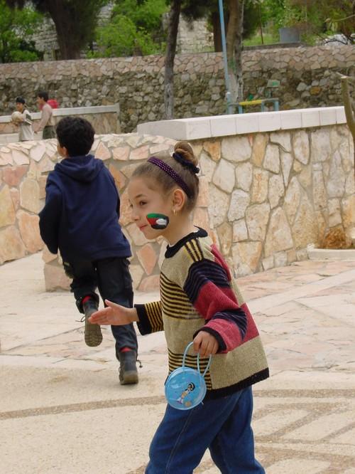 Ramallah: festa dei bambini palestinesi figli dei prigionieri