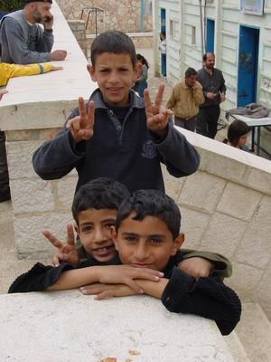 Ramallah, festa dei bambini palestinesi figli dei prigionieri