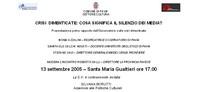 Pavia: Tragedie dimenticate: cosa significa il silenzio dei media?