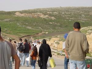 Ramallah: tensione al check point di Surda