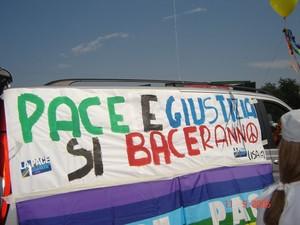 Pace e Giustizia si baceranno