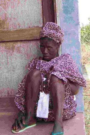 Donna della Guinea Bissau