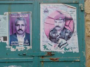 """Betlemme: manifesti dei """"martiri"""" sui muri della città"""