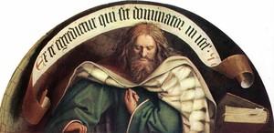 Il profeta Michea, Jan van Eyck, 1432, Cattedrale di St. Bavo, Ghent.