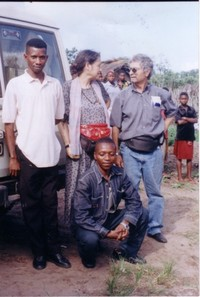 Un forte abbraccio da Kinshasa: mi mancate tutti