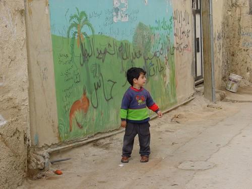 Betlemme: campo profughi di Aida