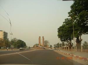La via principale di Kinshasa: Il Boulevard