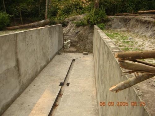 Dissabbiatore della Centrale Idro a Kimbau