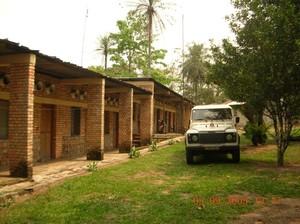 Foresteria della Parrocchia a Kimbau