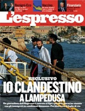 La copertina dell'Espresso