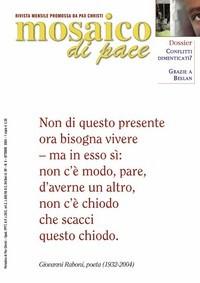 copertina Mosaico ottobre 2004