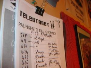Senigallia, 16 ottobre 2005. Gli studi della Telestreet Disco Volante.