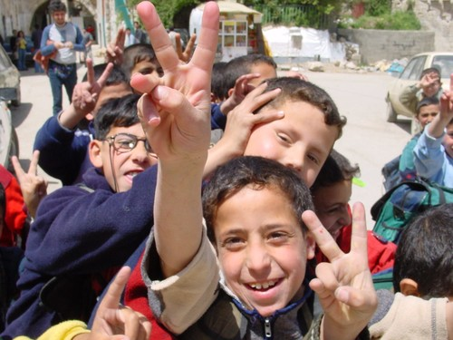 Nablus: bambini che escono da scuola, il target dei militari israeliani