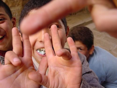 Nablus: bambini