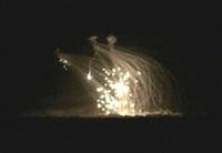 bombardamento al fosforo bianco su Fallujah