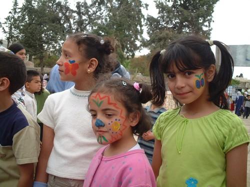 Bambine palestinesi