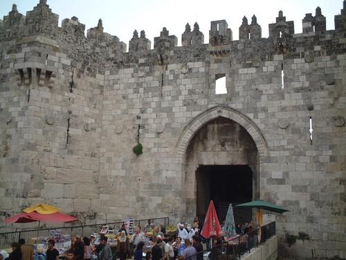 Gerusalemme: la porta di Damasco