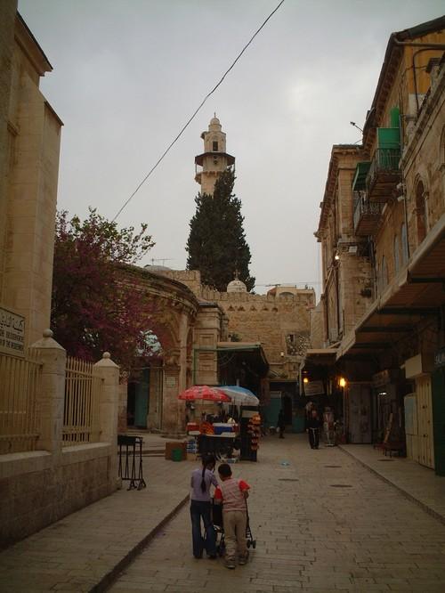 Una via di Gerusalemme
