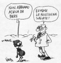 Vignetta Vauro sete in Africa