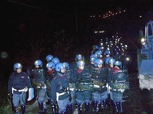 no tav proteste dicembre 2005