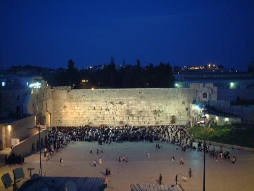 Gerusalemme: muro del pianto