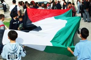 Grande bandiera palestinese
