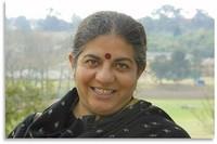 Ritratto di Vandana Shiva