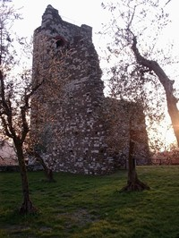 """Parte della """"Rocca nuova"""" a Serravalle Pistoiese"""