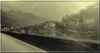 """Il ponte della Maddalena, o """"ponte del Diavolo"""", in provincia di Lucca"""