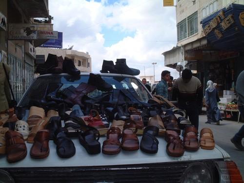 Venditore di scarpe