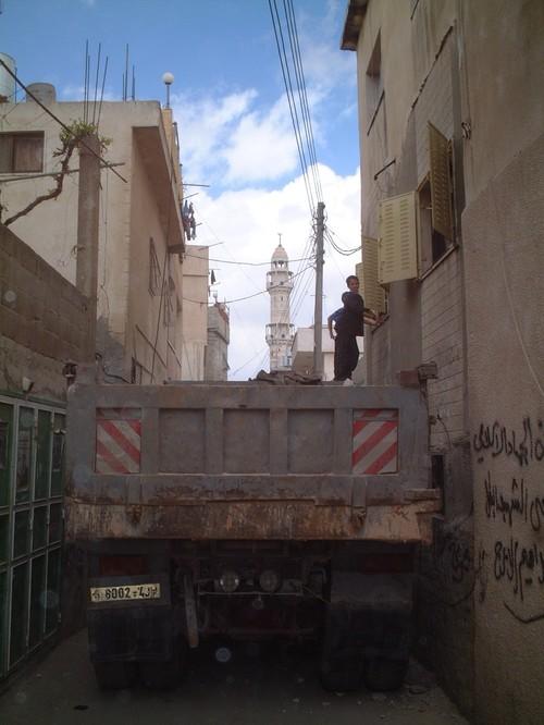 Bethlehem: campo profughi di Aida