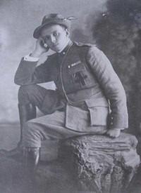 Don Primo Mazzolari cappellano militare degli alpini.